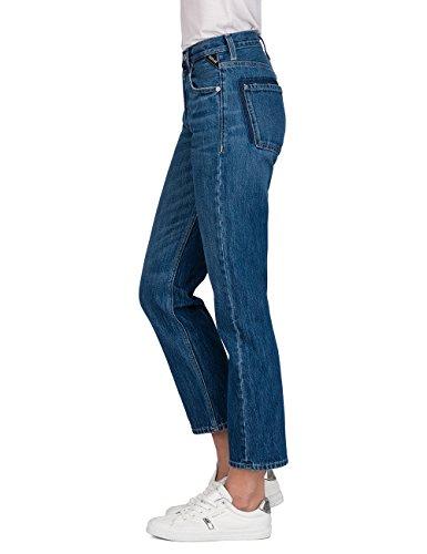 9 Jeans Blue Replay Denim mid Straight Alexys Donna Blu AxxHS8qw