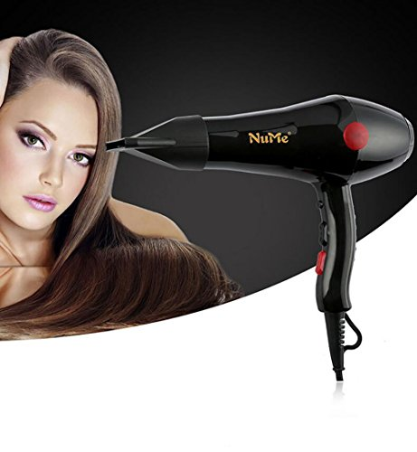 OSM&LX 1800W Hair Dryer Professional Negative Ionic With 2 S