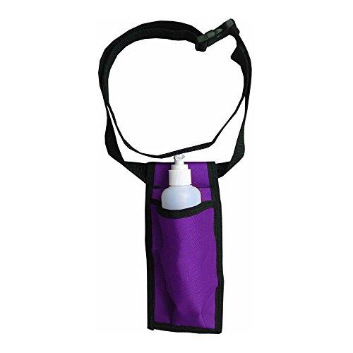Single Adjustable Massage Oil/Lotion Holster - Purple