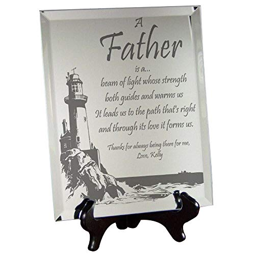 (Personalized Father Plaque, 10