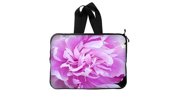 1c2ebd2bd80c Amazon.com: Beautiful Design Peony Floral Handle Macbook, Macbook ...