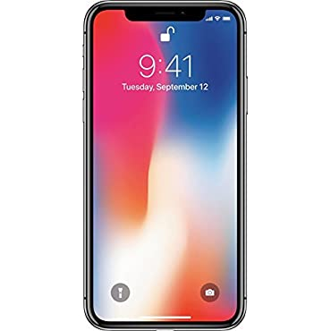 Apple iPhone X Verizon Wireless 64GB Phone (Silver)