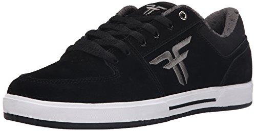 Fallen Men's Patriot Skate Shoe, Black/Ash Grey, 8 M US