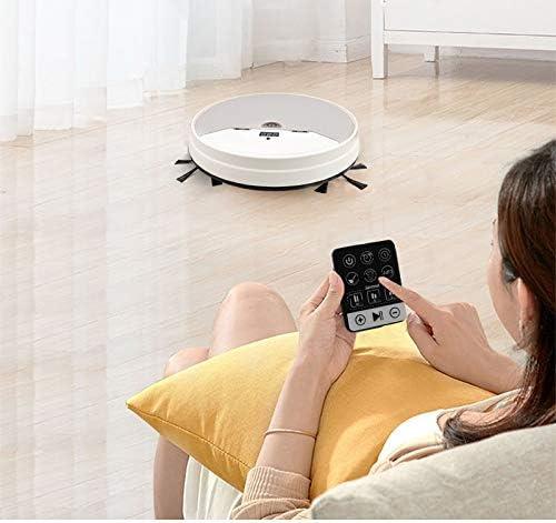 Robot Aspirateur et Mop, Mops Robot de Nettoyage Sol, connectivité WiFi, Robot Aspirateur avec Plusieurs Modes de Nettoyage