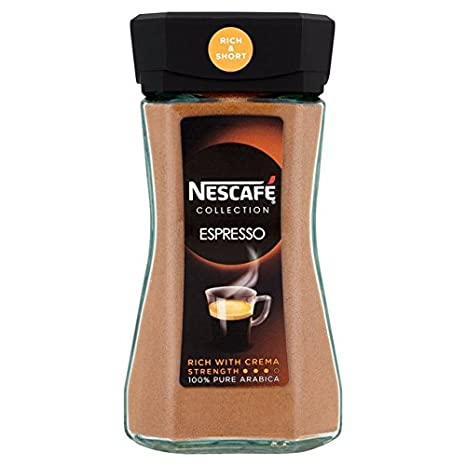 Amazon.com: Nescafe Espresso Congelación secado instantáneo ...
