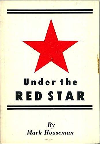 a5c270a3107 Under the Red Star  Mark Houseman  Amazon.com  Books