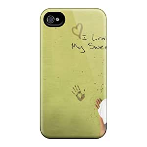 New Arrival Iphone 4/4s Case Love You Sweetheart Case Cover