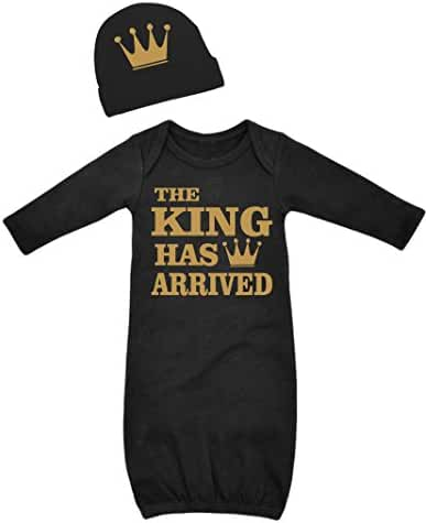 Born Fabulous The King Has Arrived Boys Layette