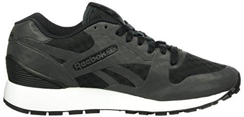Reebok Unisex-Erwachsene GL 6000 Hidden Messaging Tech Pack Sneakers, Schwarz (Black/White), 37.5 EU