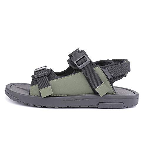 libero all'aperto adatti al casual Scarpe il casual uomo comfort e tempo coperto sandali da regolabili per Green antiscivolo scarpe Xiaoqin n46BZBU