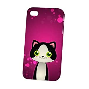 THYde Case Fun Apple iPhone 5c Case - Vogue Version - D Full Wrap - Tuxedo Cat by DevilleART ending