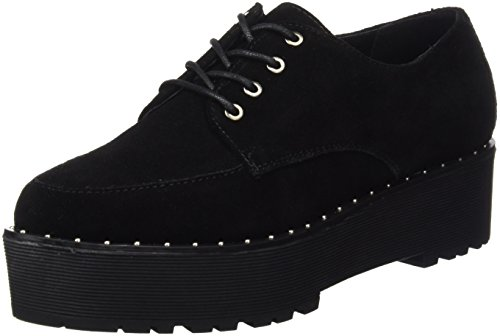 78759 Negro Seven Suede Chaussures Sixty Femme 5TvRqg