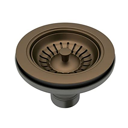Rohl 735EB Basket Strainer Without Pop-Up Manual Operation, English ...