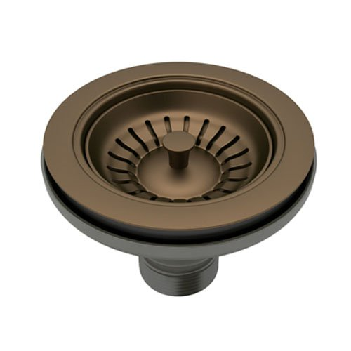 Rohl 735EB Basket Strainer Without Pop-Up Manual Operation, English Bronze by Rohl