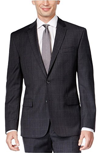 Kenneth Cole New York Charcoal Tonal Two Button New Men's Sport Coat hot sale