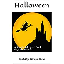 Halloween: A Spooky Bilingual Book English-French (French Edition)