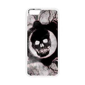 iPhone6 Plus 5.5 inch phone cases White Gears of War Phone cover NAS3818685