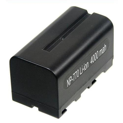 Battery Sony Style Np-F770 Replacement Battery- 7.4 Volt 4800Mah Li-Ion Replacement Battery And Rapid Charger