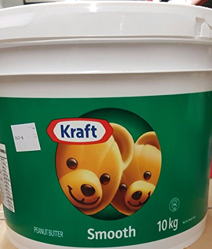Kraft Peanut Butter Smooth 10kg/22.05 Pounds {Imported from Canada} (Peanut Smooth Kraft Butter)