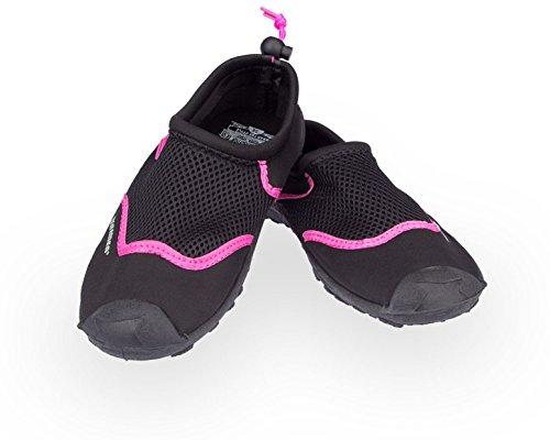 Waimea Kinder Aquaschuhe Rosa Wassersportschuhe Schwarz RXSXxpq