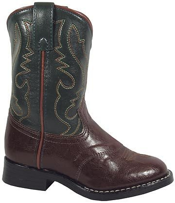 Smoky Mountain Childrens Diego Boots 11 Brown/Green