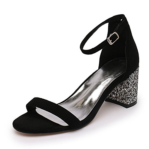 Femeninas Toe Rocío Salvaje Sandalias Correa SUHANG Sandalias Ranurada Zapatos R4wIFx0q