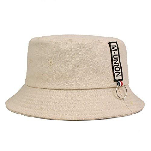 58Cm Hip Aire Sombrero de Gorra Gorras al Escuela Beige Salvaje Sombrero Pescador Gorras Turismo Sombrero Sombrero la Sombrero Pequeñas de Sol Deportes de Libre de Hop de Sombrero wqarwHz