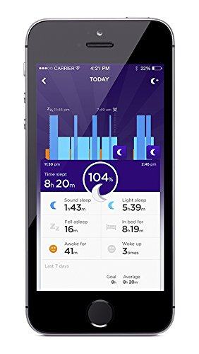 UP24 by Jawbone Small Bluetooth Fitness Tracking Bracelet Persimmon