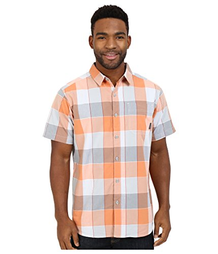 Columbia Men's Thompson Hill II Yarn Dye Shirt, Cirrus Grey Large Plaid, -