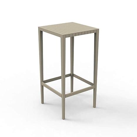 Amazon.com : Vondom Spritz high Table for Outdoor 20x20 h ...
