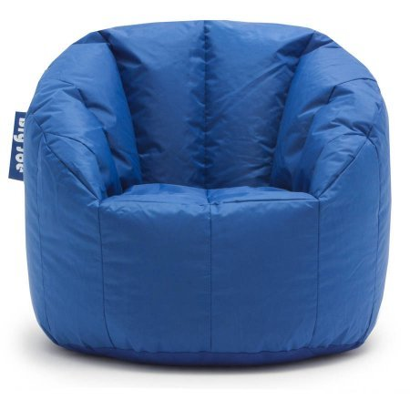 big joe milano bean bag chair stadium blue import it all. Black Bedroom Furniture Sets. Home Design Ideas