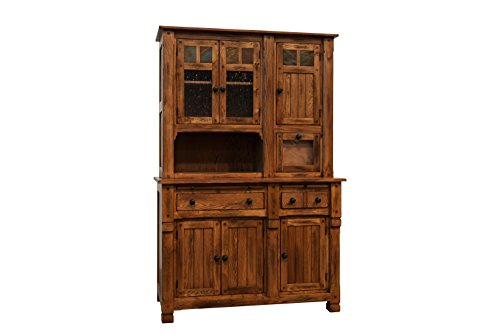 Sunny Designs Sedona Hutch/Buffet (California Bookcase Cabinet)