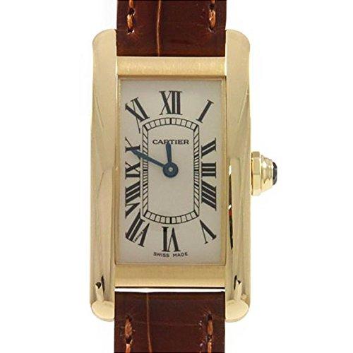 [カルティエ] Cartier W2601556 タンクアメリカン YG クォーツ(2600014432248) 中古 B07FL98SSL