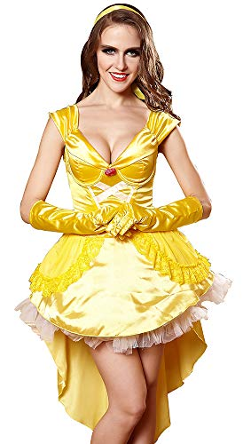 Women's Storybook Princess Party Costume Halloween Belle -