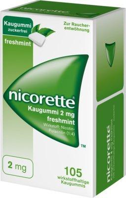 Nicorette 2 mg freshmint, 105 St