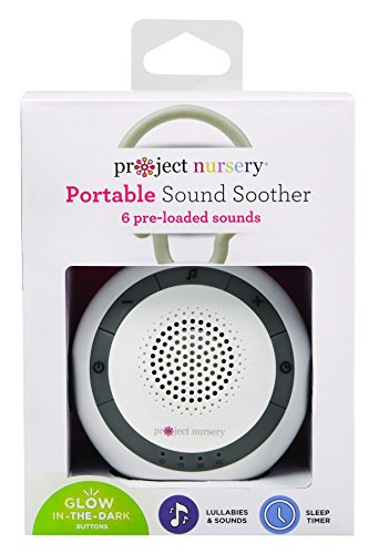 Project Nursery Soother White - Soother White Baby