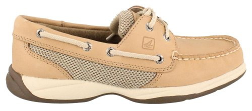 Sperry Top-Sider Intrepid Boat Shoe,Linen/Mesh,8 M US