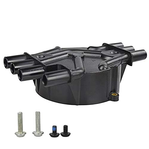 Ignition Distributor Cap Rotor Kit 1104079 Replacement For Chevy GMC Suburban 2000-96 V8 5.0L 5.7L Brass Terminals Equipment Ignition Distributor Cap