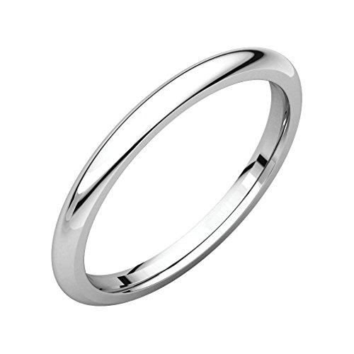 1 mm platinum ring - 3