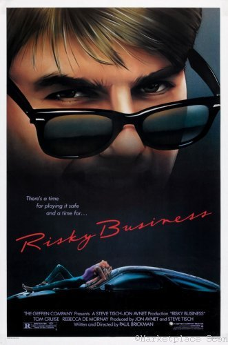 Risky Business Movie Poster 24x36in