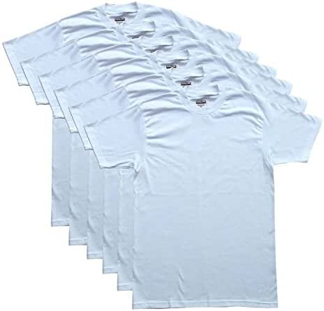 Kirkland Signature Men's 3-Pack/6-Pack Crew Neck T-Shirts 100% Cotton Tagless
