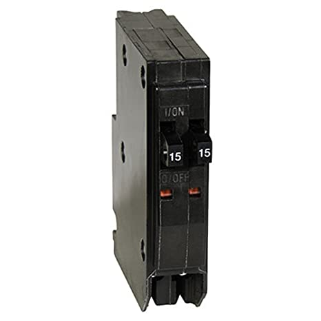 circuit breakers & fuse boxes square d by schneider electric qot1515cp qo 2-15  amp single-pole tandem circuit