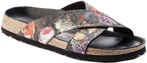 Papillio Women's Daytona Lux Sandal Floral Bouquet Textile Size 37 EU (6.5-7 N US Women)