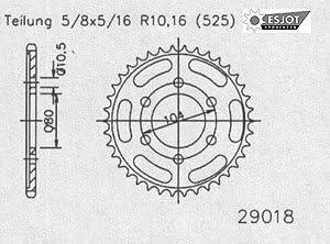 Regina O Ring Kettensatz Kawasaki Zx 7r 1996 2002 Auto