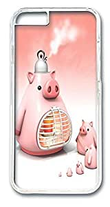 ACESR Culinary Pigs Shop iPhone Case PC Hard Case Back Cover for Apple iPhone 6 4.7inch