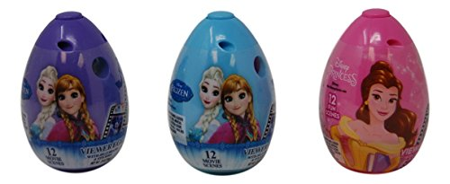 Frozen and Princess Viewfinder Easter Basket Stuffers 3 Cand