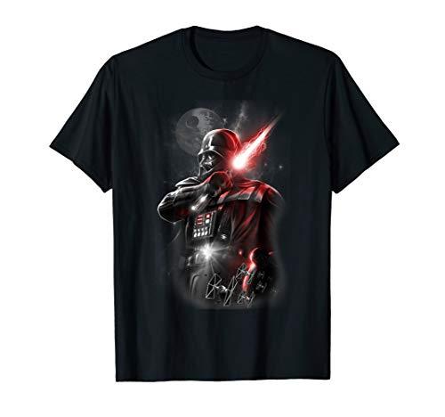 Star Wars Darth Vader Lightsaber Portrait Graphic T-Shirt -