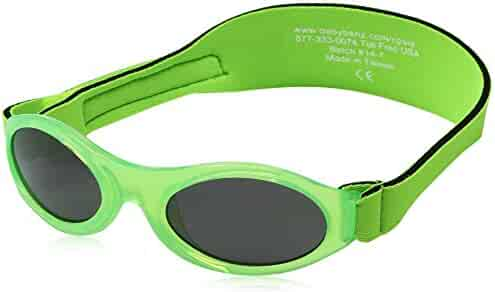 Baby Banz Sunglasses Infant Sun Protection – Ages 0-2 Years – THE BEST SUNGLASSES FOR BABIES & TODDLERS – Industry Leading Sun Protection Rating – 100% UV