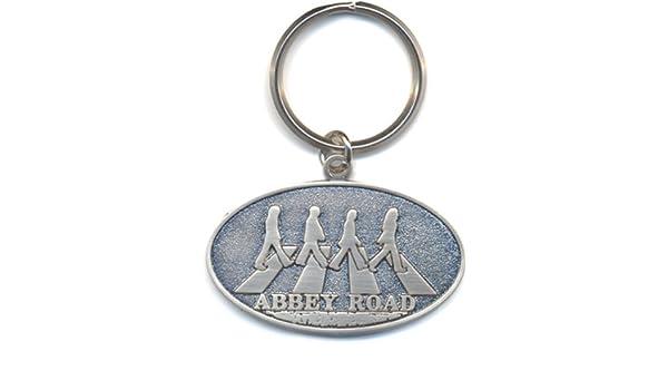 Llavero oficial metálico con los Beatles cruzando Abbey Road ...