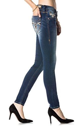 Revival Skinny Rock S201 Jean Pour Denim Kailey Femme dgvxFU